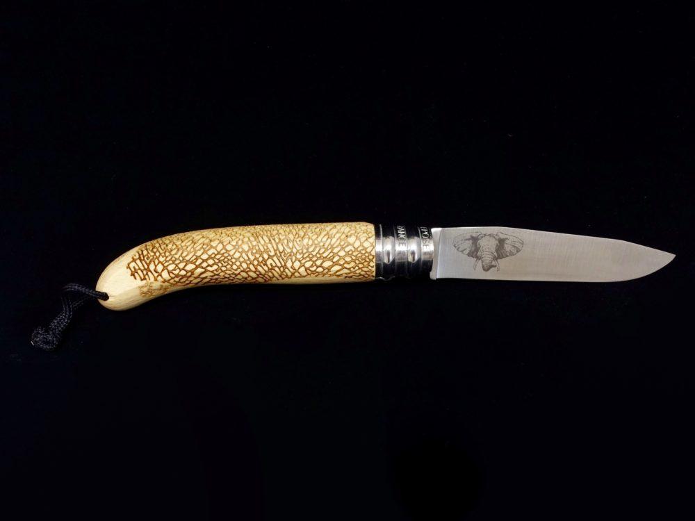 Couteau Verdier L'Alpage Eléphant Hêtre