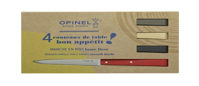 Boite de 4 Opinel N°125 Esprit Loft