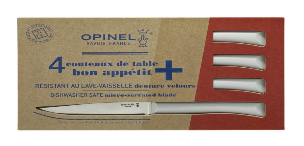 Boite de 4 Opinel Couteau de table Bon Appetit + Nuage