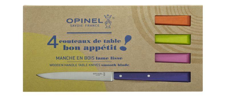 Boite de 4 Couteau Opinel N°125 Esprit Pop