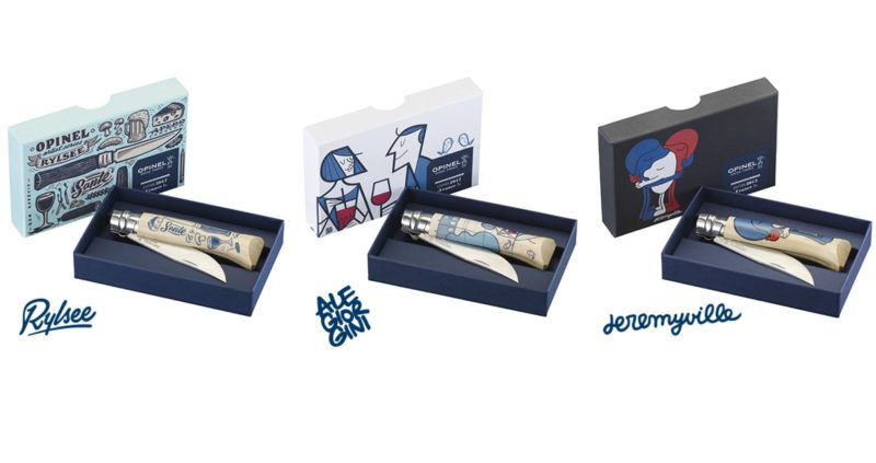 Couteau Opinel 8 Edition France 2017 By Jeremyville