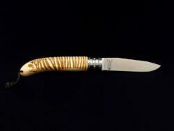 Couteau Verdier L'Alpage Zèbre en bois de Hêtre
