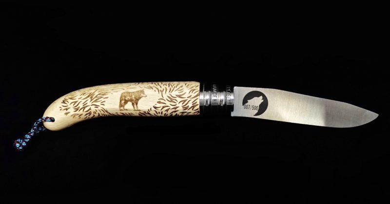Couteau Verdier l'Alpage Wolf