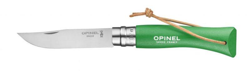 Couteau n°7 Baroudeur Vert Prairie