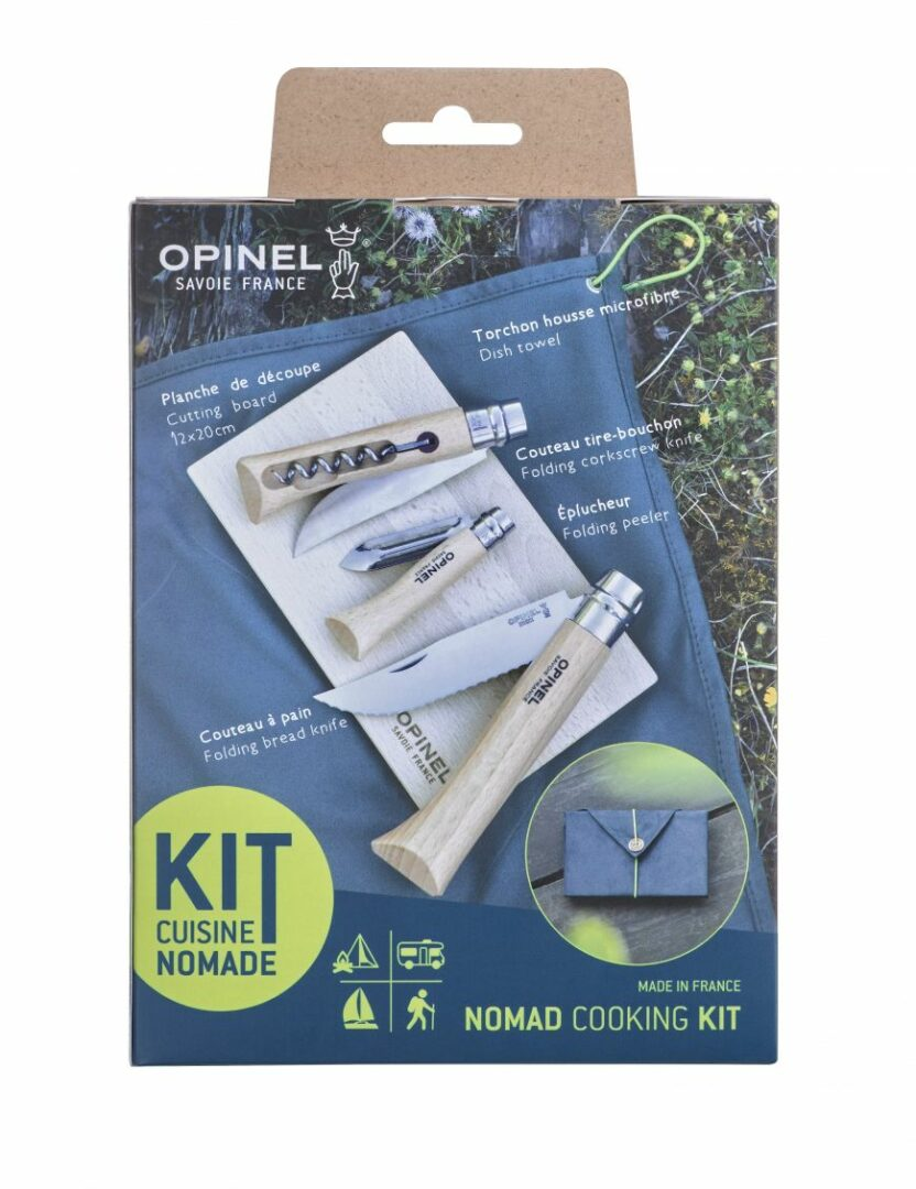 Kit Couteau Opinel Cuisine Nomade