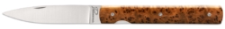Perceval Couteau Pliant Français Loupe de Thuya