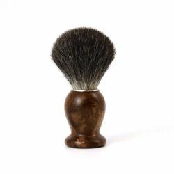 Blaireau Gentleman Barbier en bois