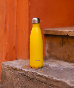 Bouteille Jaune Qwetch Isotherme